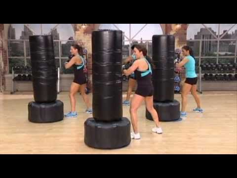 Cathe Friedrich S Bonus Heavy Bag Workout Video Pinterest And Fitness