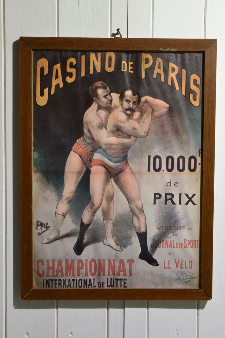 Stampa Vintage Casino De Paris