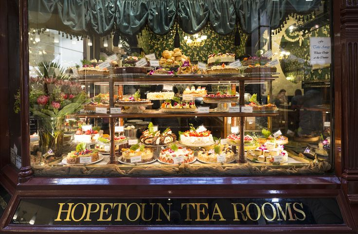 Hopetoun Tea Rooms - Block Arcade. Amazing cakes! Go for breakfast at 8am when there is no queues,