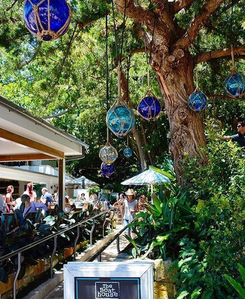 Boathouse Cafe - Shelley Beach, Manly, Sydney, NSW - Manly Beach is beautiful and is accessible by ferry from Circular Quay. A return ferry ticket will cost you no more than $15 and the journey takes approx 30 minutes. You will find shops, bars, cafes and restaurants lining the beach.