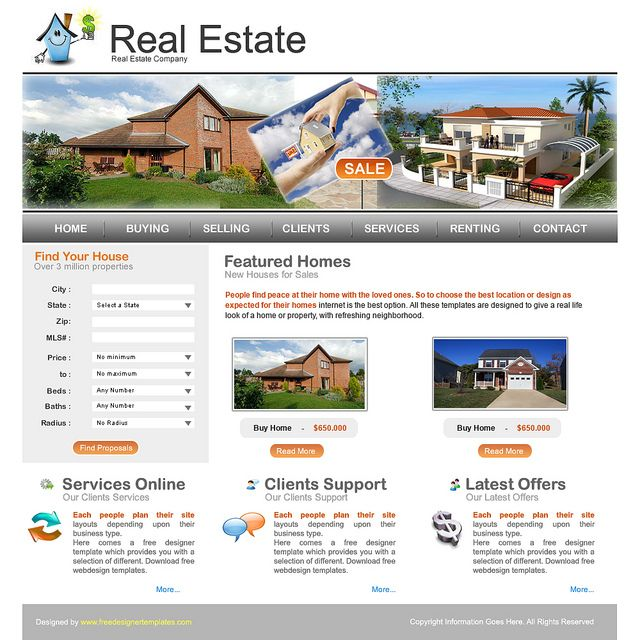 Real estate html templates is aimed to cater realtors, estate agents, brokers, mortgage companies, entrepreneurs looking to take up buying and selling of properties. http://www.houseinhanoi.com/apartments/properties/3/0 http://www.houseinhanoi.com/properties/property/3-apartments/13-apartments-in-ciputra/127-advanced-apatrments-in-ciputra-for-rent