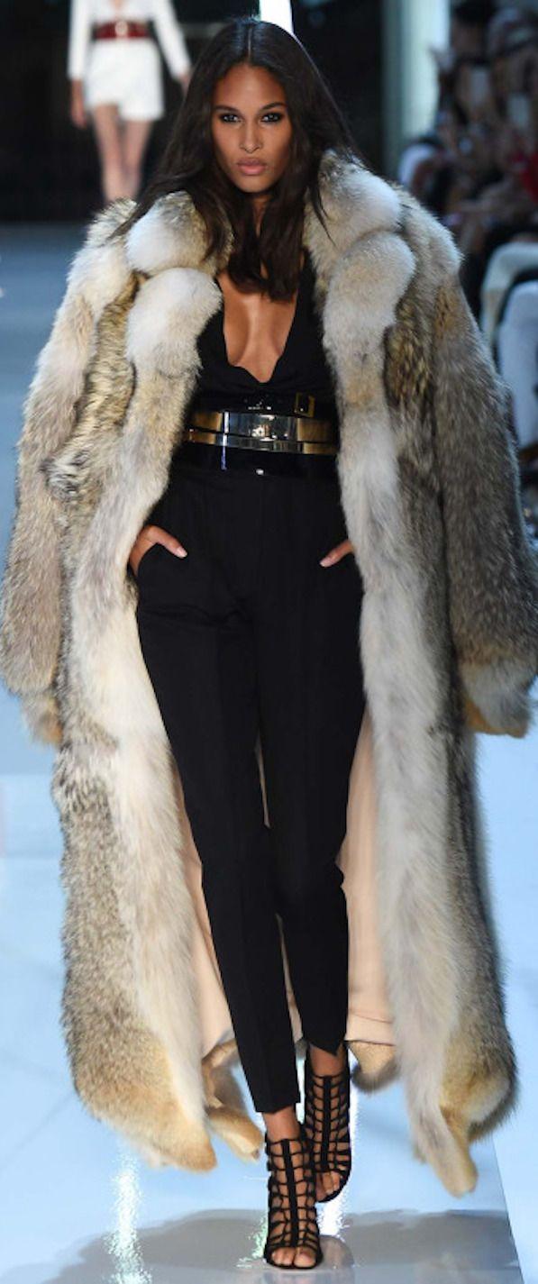 Best 25  Long faux fur coat ideas on Pinterest | Long fur coat ...