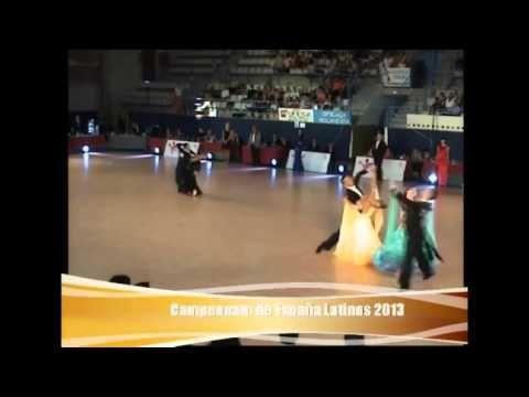 Cezar & Katerina Spain Professional Ballroom Championships - YouTube