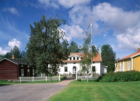 Kuddnäs, museum. Finland's national poet Zacharias Topelius childhood home…