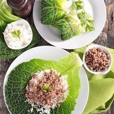 Recette feuilles de chou farcies à la viande et au riz - Cuisine et Vins de France