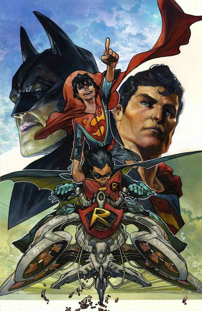 SUPER SONS #1 Simone Bianchi Variant Cover DC Rebirth