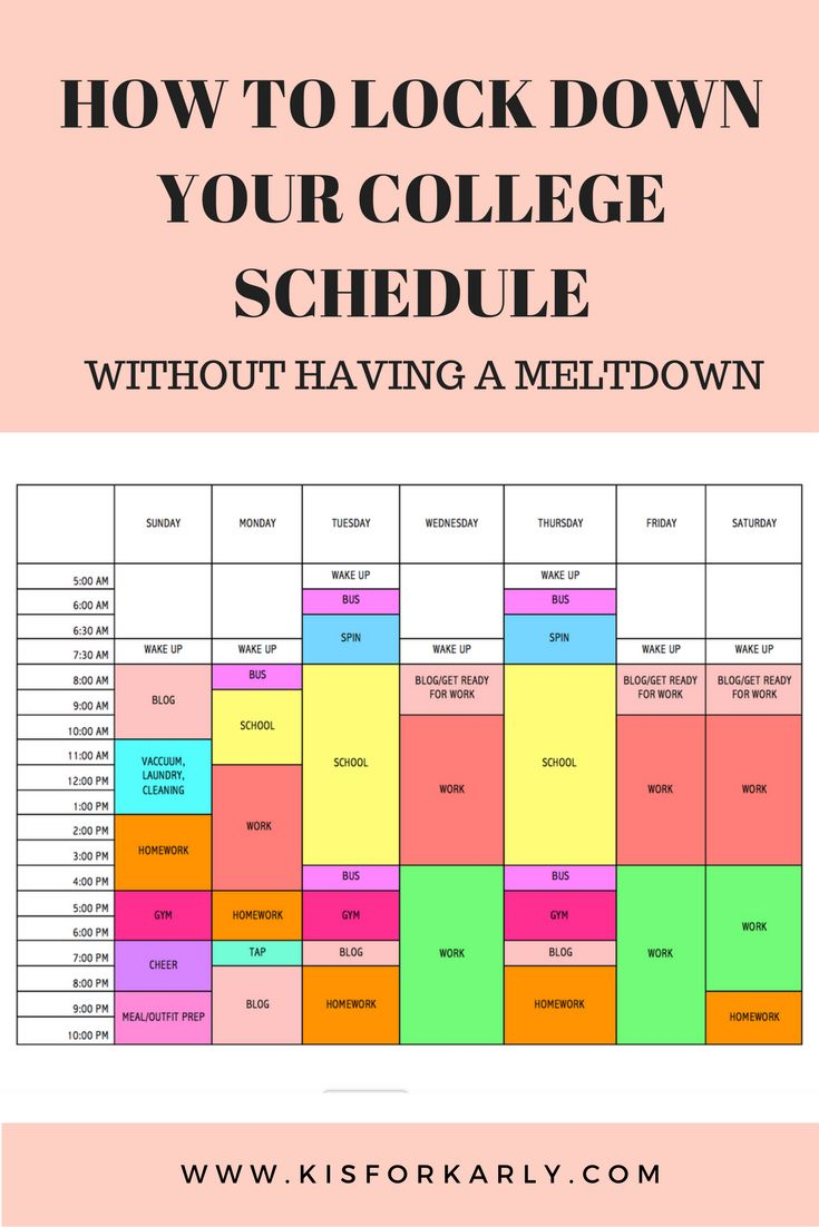 Call me nerdy but a good schedule makes me so ridiculously happy. A schedule is so practical and today I'm going to show you how to lock one down.