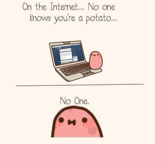Kawaii potato. :D