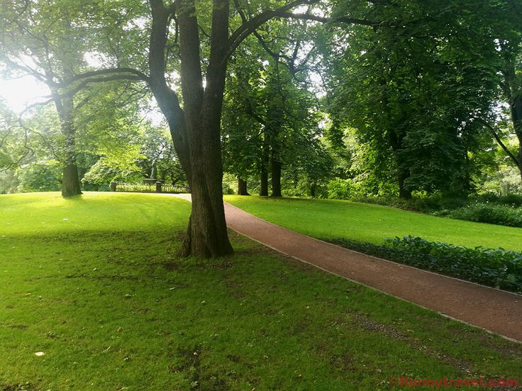 While having a stopover in Oslo unwinding in the Royal Garden is a great option.