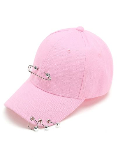 Pin & Halka Tasarım Beyzbol Şapkası