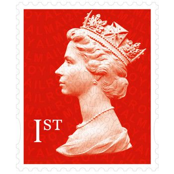 15 Books of 12 First Class Stamps (180 Stamps)