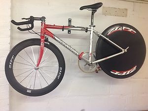 5.8kg bike...rockhopper frame...60t front, 7sp disc...deore rear/front shifter...Time Trial / Lo - Pro Cycle | eBay