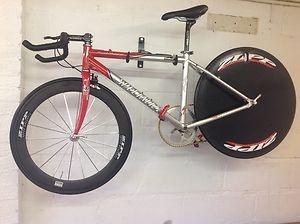 5.8kg bike...rockhopper frame...60t front, 7sp disc...deore rear/front shifter...Time Trial / Lo - Pro Cycle | eBay