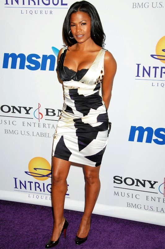 Nia Long - this chick has always had the most beautiful, bronze skin!!! - VJ