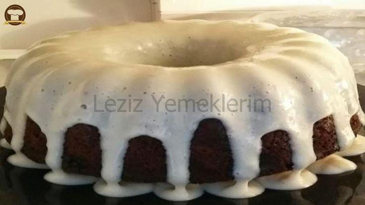 Siyah Beyaz Cevizli Kek
