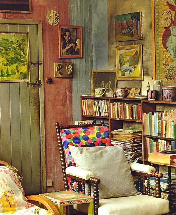 Charleston Sussex England Bloomsbury Group Gathering Place Home Of Vanessa Bell