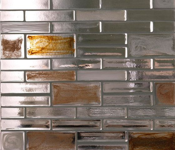 Decorative glass | Mattoni di vetro | Classic collection | Poesia
