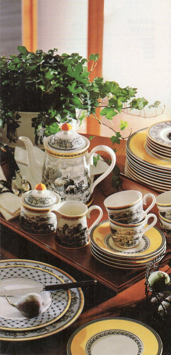 332 best villeroy boch images on pinterest dinner ware for Bosch and villeroy