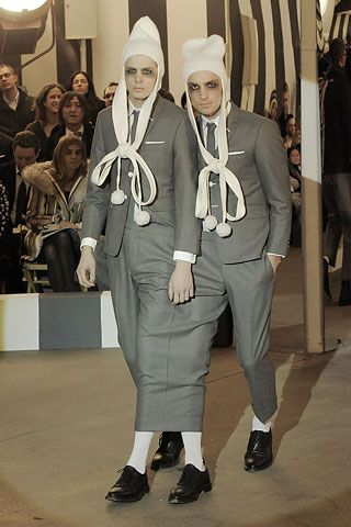 Thom Browne | Fall 2008 Menswear Collection | Style.com