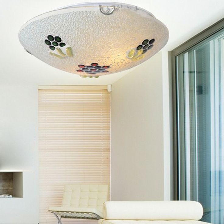 Mediterranean Kids Room Ceiling Lamp Creative Mosaics Bedroom Ceiling Lamp Fashion Kitchen Ceiling Lamp