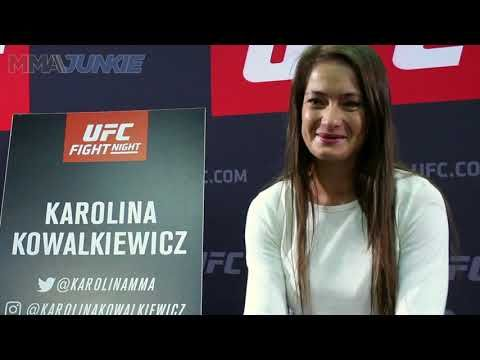 MMA Karolina Kowalkiewicz ready to turn things around with a win and a cookie at UFC Fight Night 118