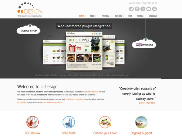 u-design is a very powerful theme which suits both, user with no programing background as well as advanced developers  #wordpress #wordpressthemes #wordpresstheme #themes