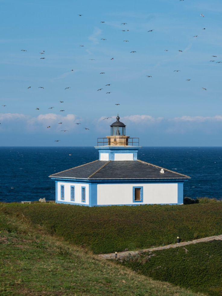 Ribadeo Lighthouse, Galicia, Spain- by LeSuricate01