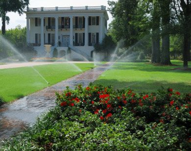 Residential Irrigation System for large properties lawn and garden