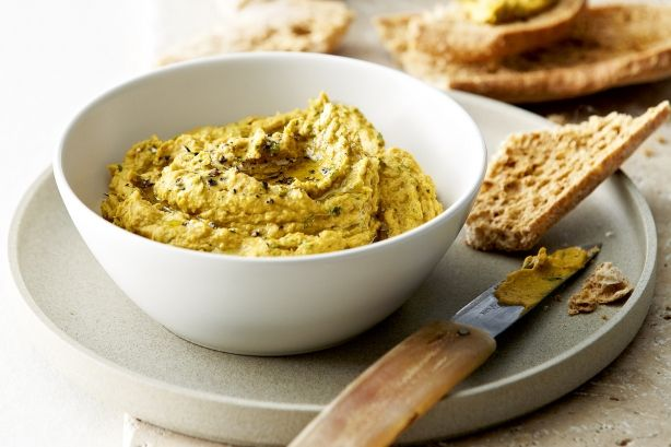Homemade hummus is delicious, nutritious and perfect for snacking. Try our version – it has a sweet pumpkin twist and added tahini for that authentic flavour.