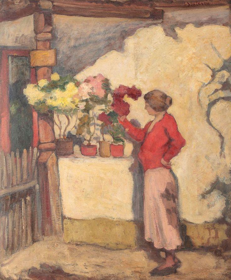"""Ioan Stătescu - """"Cerdac cu flori"""""""