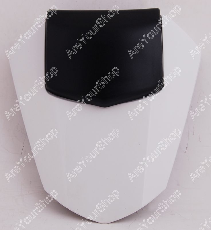 Sale White Universal Motorcycle Rear Seat Cover Cowl Solo Motor Seat Cowl Rear Pillion Fairing Set for Yamaha R6 2008-2010