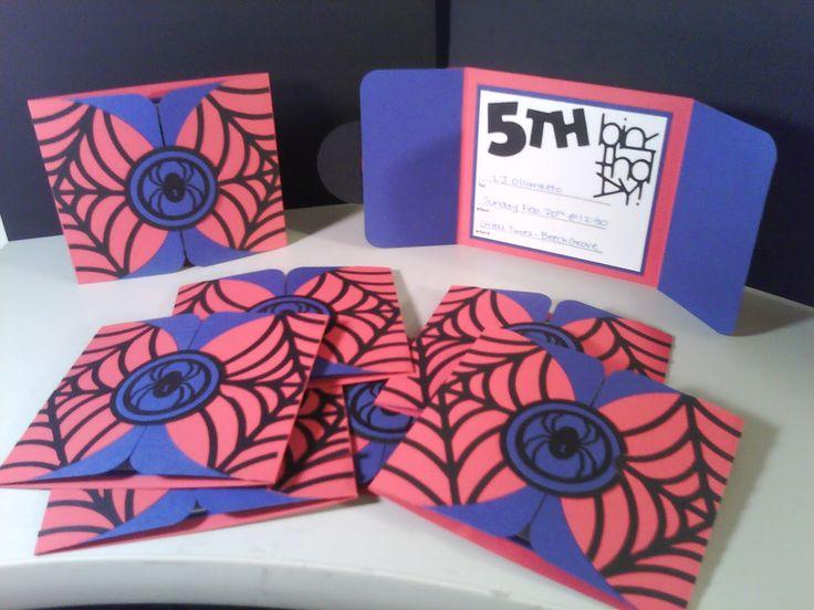 the 25+ best spiderman birthday invitations ideas on pinterest, Party invitations