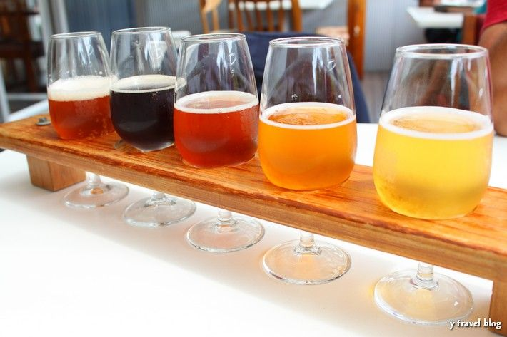 Beer sampling at Hallertau- just out side of Auckland, awesome date idea.