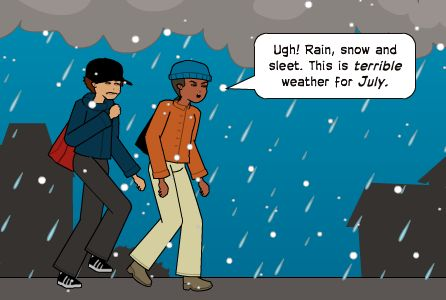 Here's our Comic of the Week (#COTW)! This week's theme: Climate & Weather #edchat #makered