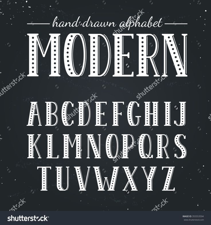 Chalkboard lettering alphabet the image Chalkboard typography