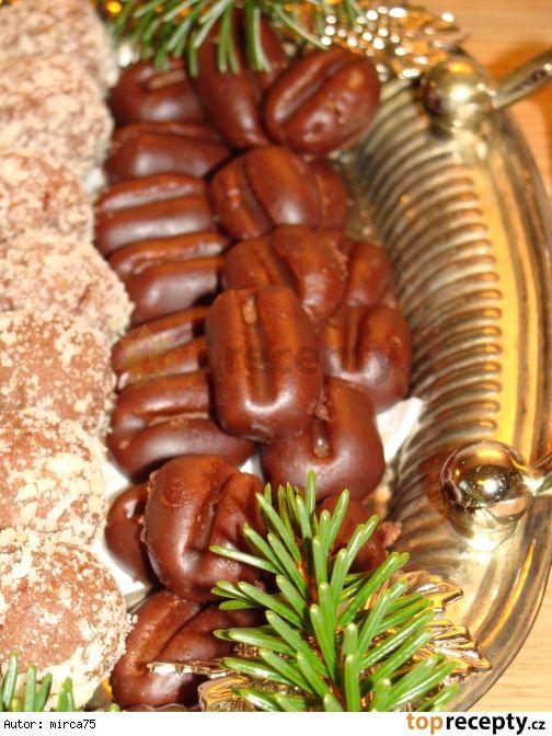 Kávová zrna - piškotová