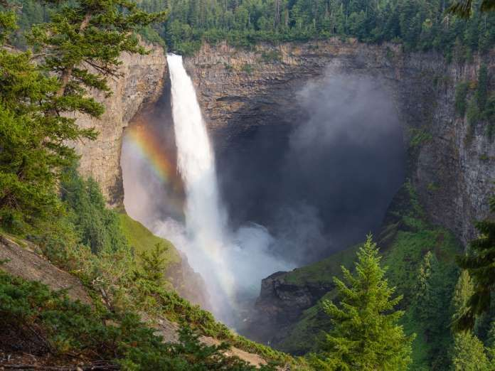 Helmcken Falls - Wells Gray Provincial Park, British Columbia