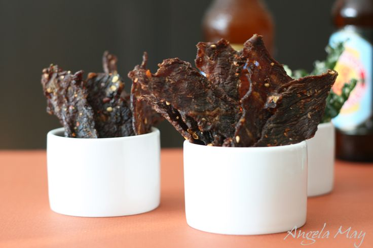 Two dehydrator beef jerky recipes using Szechuan and Thai spices #Thai #recipe