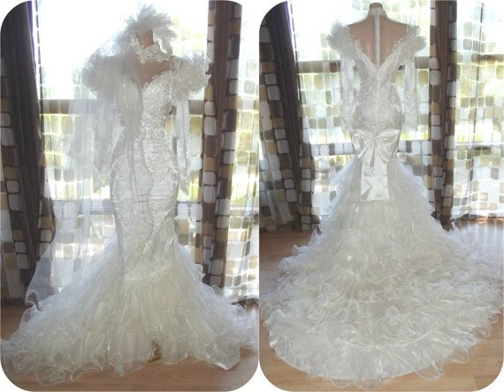 124 Best 1980 Wedding Gowns Images On Pinterest