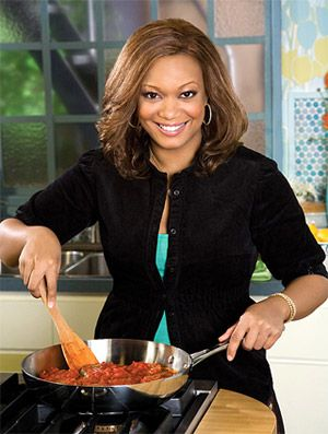 Sunny Anderson is Cookin for Real