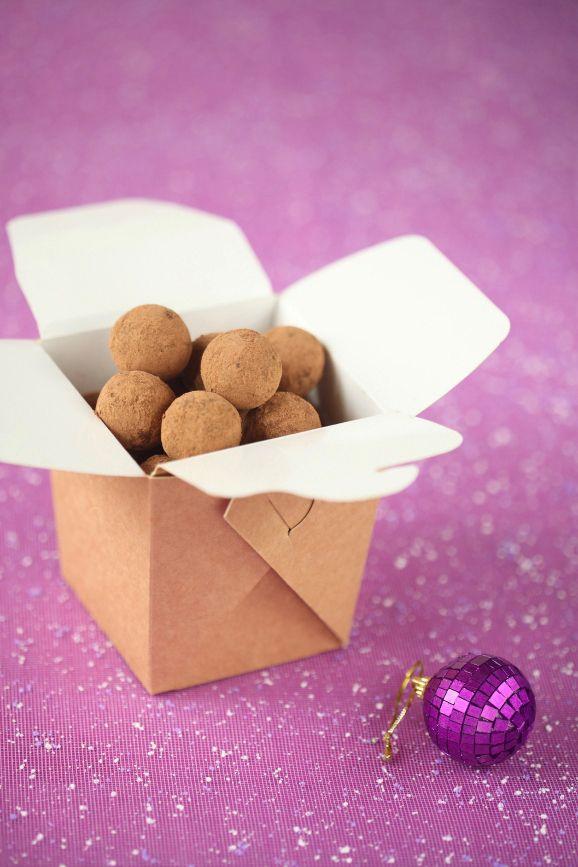Verdade de sabor: Шоколадно-миндальный трюфель / Trufas de chocolate...