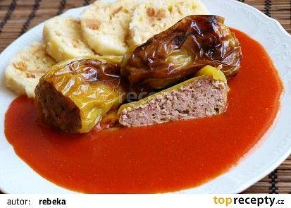 Plněné papričky podle mé babičky recept - TopRecepty.cz