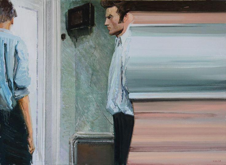 """Dymchuk Gallery: Персональная выставка Игоря Гусева """"Платформы вечности"""" http://artexpoua.blogspot.com/2013/09/dymchuk-gallery.html Мир, который маркирует календарное время, всего лишь антураж, реквизит без невидимых, но не рвущихся каналов связи между «просто людьми». http://art-facts.livejournal.com/54601.html"""