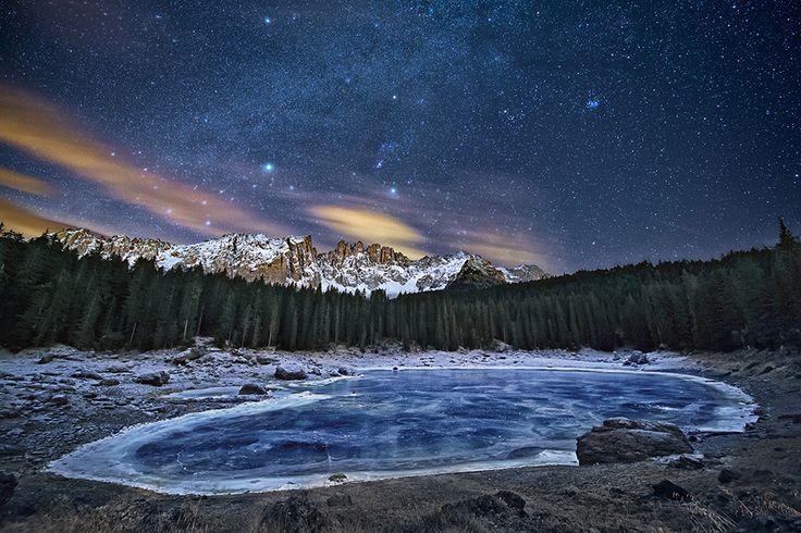 The frozen lake fotografia di Cristian Fattinnanzi