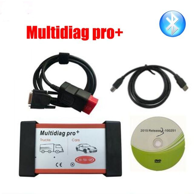 V2015 3 Multidiag Pro+ DS150E Bluetooth Same functions as