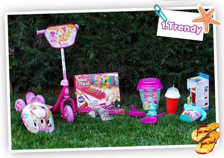 Τέρμα τα σχολεία, τα βιβλία, τα θρανία , είναι η ώρα για παιχνίδι και παραλία!!  20 τυχεροί κερδίζουν από 5 καλοκαιρινά δώρα ο καθένας!!  Διάλεξε το σετ που σου αρέσει και πέρνα μαζί του ένα καλοκαίρι γεμάτο παιχνίδι!         Όροι χρήσης