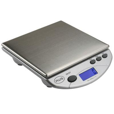 Dig Postal Kitchen ScaleSilvr - American Weigh Scales - AMW13-SL