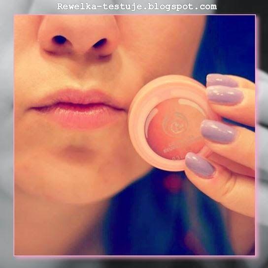 Rewelka Testuje: Moc grejfruta na moich ustach! Pink Grapefruit Lip Butter od The Body Shop