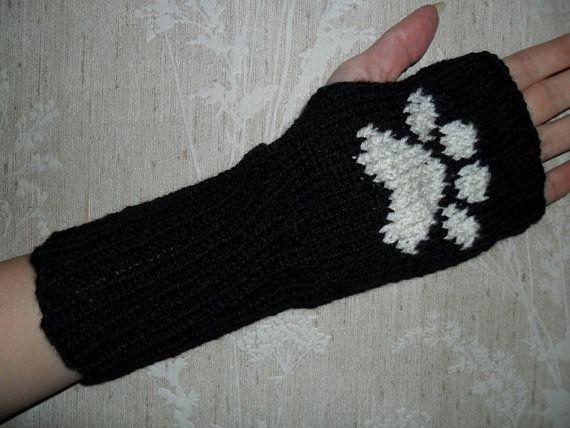 Bear Paw Fingerless glove