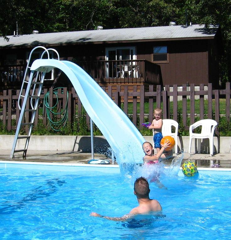 juegos de piscina en tobogan